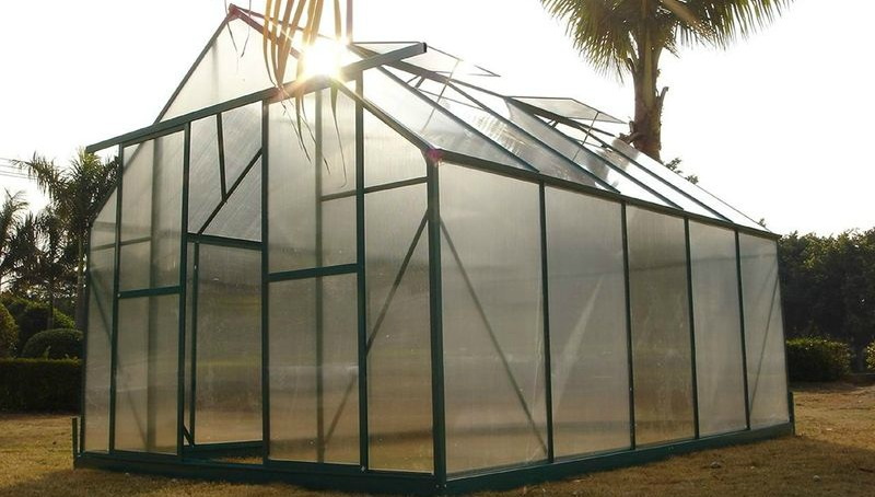 Agriculture made of polycarbonate sheet