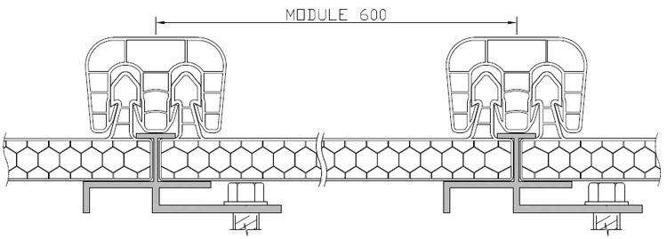 Honeycomb polycarbonate sheet