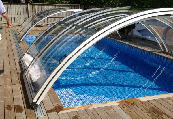 Top 5 secrets of polycarbonate swimming pool cover for Greenhouse over swimming pool