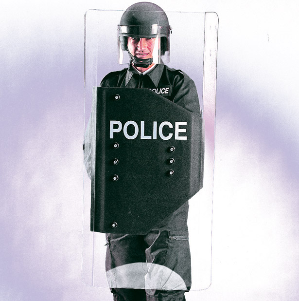policarbonate riot shield